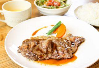 【春・夏限定】国産牛ステーキ!(7/24~7/29昼まで臨時休業)