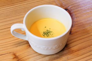 にんじんの冷製スープ