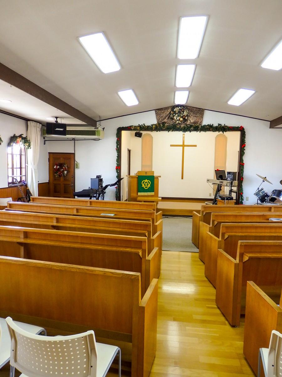 取手シオンの丘 キリスト教会