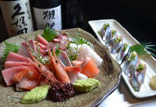 厳選!こだわりのお刺身やお寿司が楽しめる!