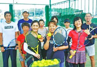 テニススクール生募集!