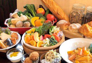 産直素材が食べ放題のレストラン