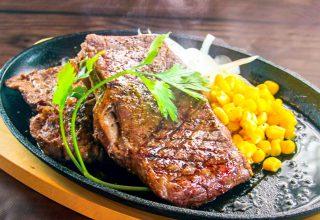 肉好きにはたまらないステーキ!